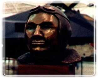 Louis the Aviator Bronze Portraiture